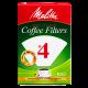 Melitta #4 filters coffee